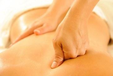 Massaggio addome e torace