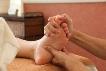 Massaggio per chi lavora in piedi