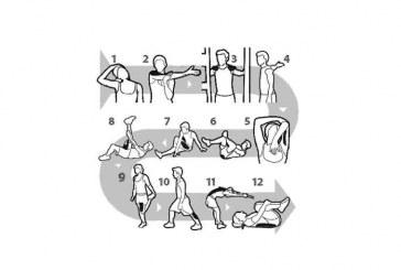 Stretching per la colonna vertebrale