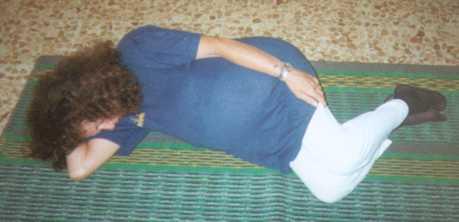 yoga gravidanza posizione 3