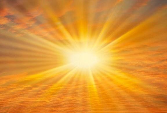 Saluto al sole esercizio di respirazione