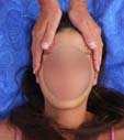 reiki trattamento posizione 2