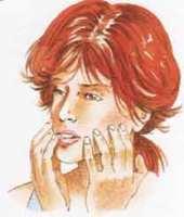 viso mandibola e guance